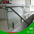 China supplier stainless steel glass juliet balcony for balcony grill designs