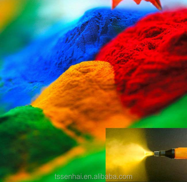long lifespan safety thermosetting spray powder coatings powder paints China manufacturer