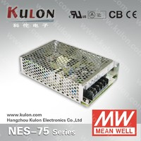 MEAN WELL 75w 5v switch mode industrial Power Supply NES-75-5