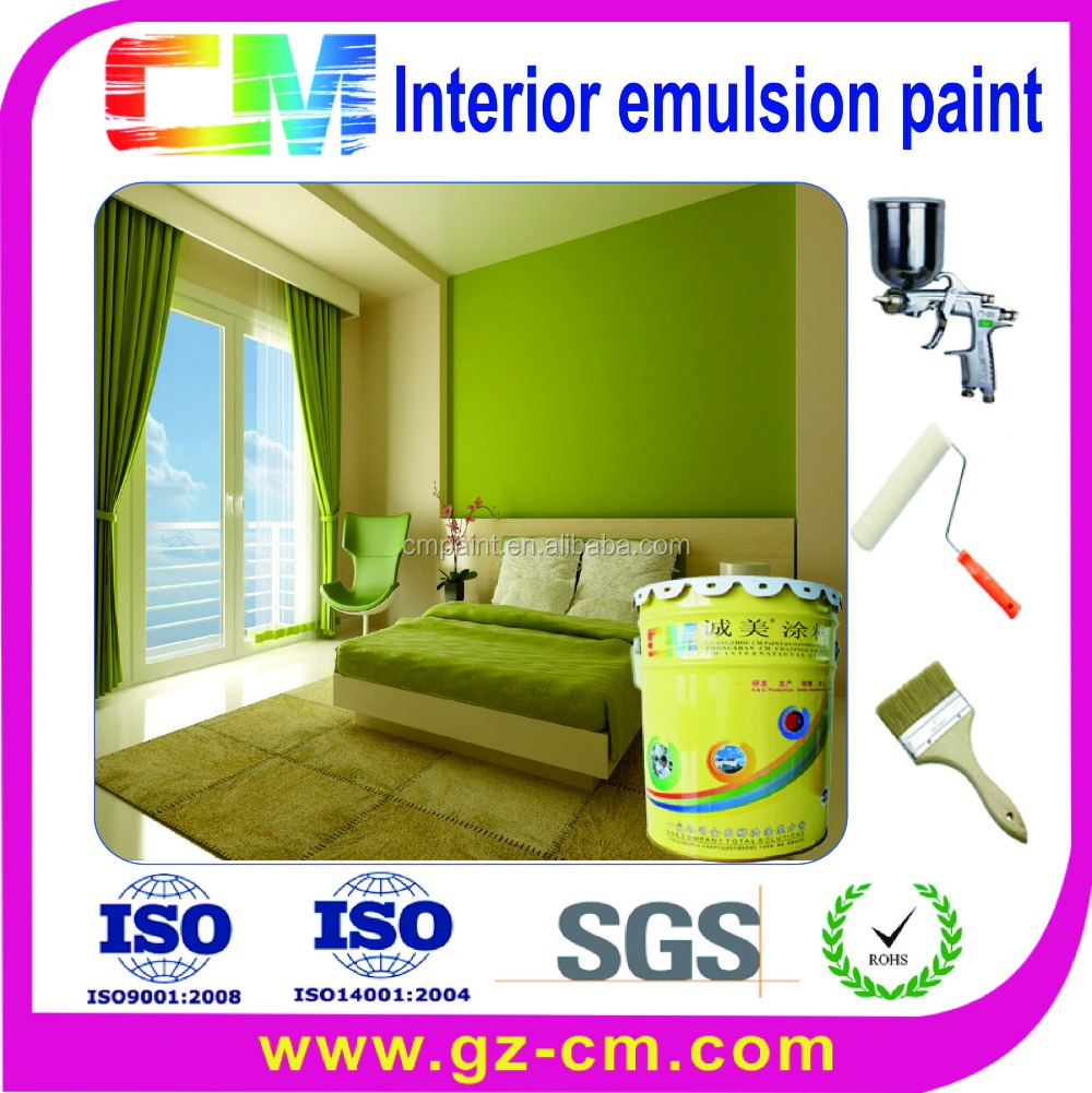 Environmental-friendly waterproof acrylic interior paint for spray paint