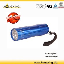 Hamp106 new promotion 9 led flashlight
