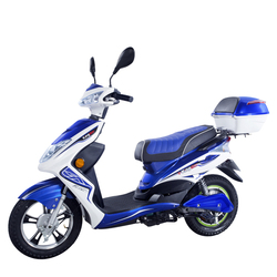 High Profile Drum Brake Electric Scooter with Lithium Battery