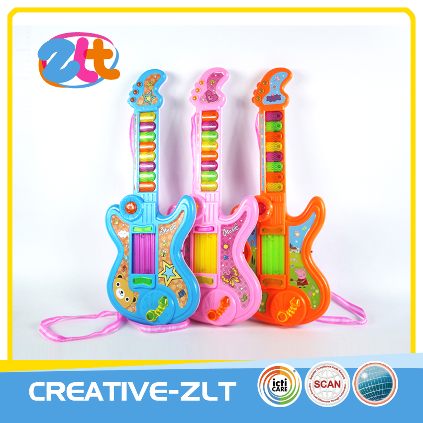 Electronic toy musical instruments guitar with music