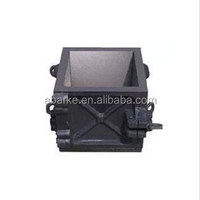 Popular One Gang 4 part Cast Iron Laboratory Cube Mould