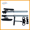 CRF70 TTR110 KLX110 735mm, 780mm, 810mm front fork with Alloy steering parts mini bike front fork
