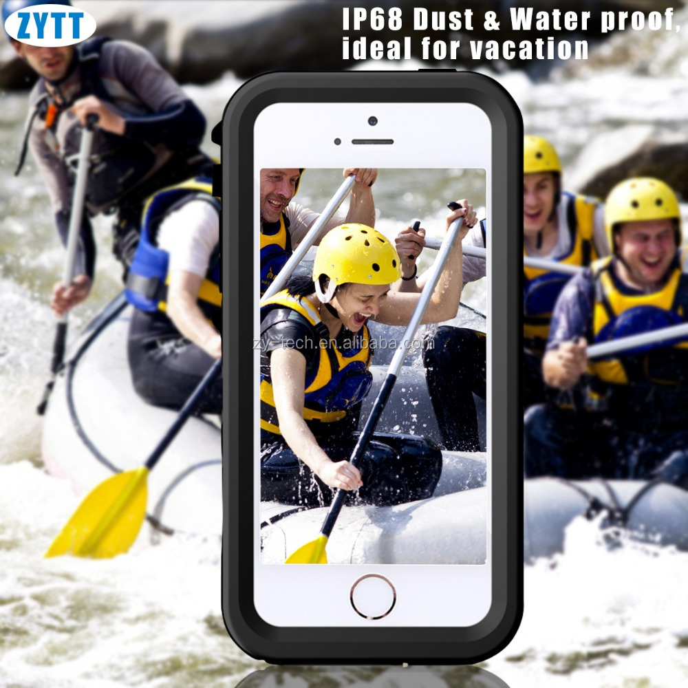 TPU waterproof case for iphone5 5s Battery Charger for Apple iPhone