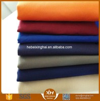 TC twill stock fabric 21*21 108*58 poly cotton spandex 100% cotton twill fabric for uniform garment