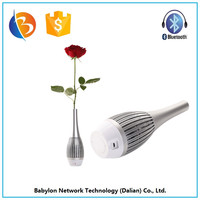 Sensitivity +82dBm Battery capacity 1500mAH I6 Bluetooth vase speaker Cheap Price multimedia speaker with mic input
