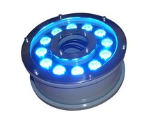 3 Years Warranty 24Vdc Ip68 3In1 <strong>Rgb</strong> 12X3W Led Underwater Light
