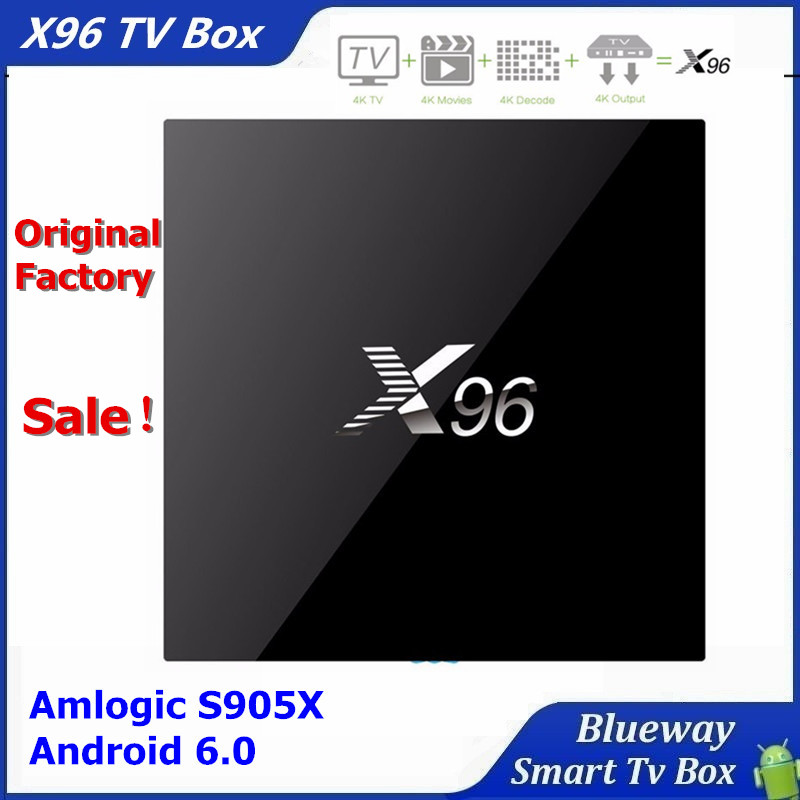 2016 Top Quality Best Price X96 Amlogic S905x Quad Core Tv Box Android 6.0 Tv Box X96