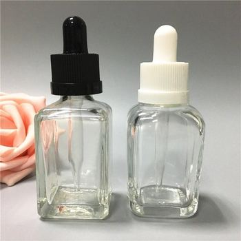 glass 100ml 50ml 30ml 20ml 15ml 10ml 5ml white essential oil bottle with dropper