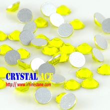 Critine Flat Back Loose SS6 Glass Material Strass Crystal beads for nail art