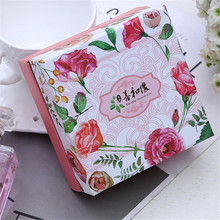 Custom luxury empty small paper packaging soap gift box packaging