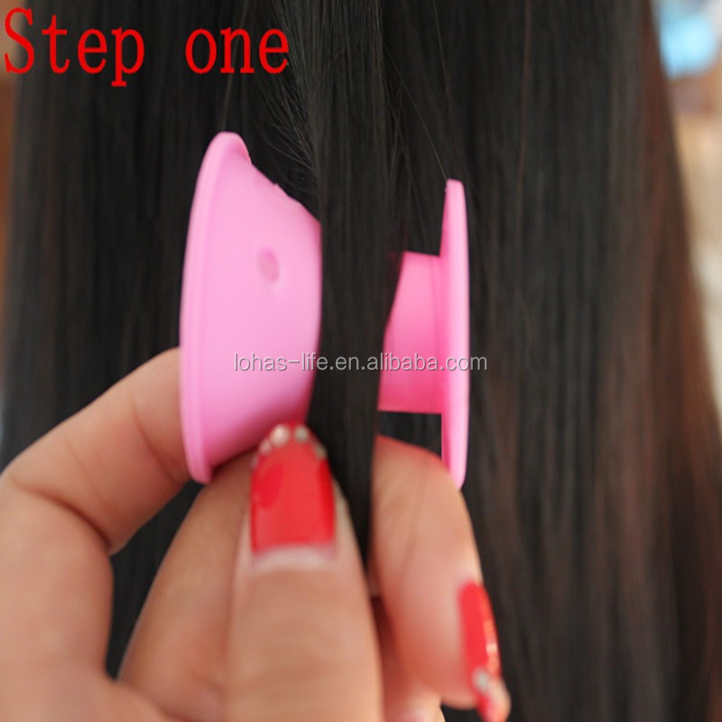 perm rollers/silicone hair rod /silicone hair rollers