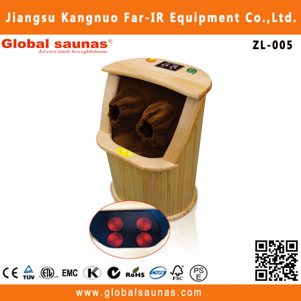 Far infrared health care foot sauna shower cabin with safe heater parts zl-005