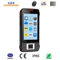 3G industrial 4.3/5 inch pda handheld 2D Android bluetooth barcode scanner with display