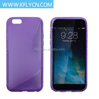 High Quality Soft Purple Soft Tpu Resin Phone Cases
