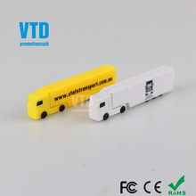 High Quality Plastic Truck Shape USB Flash Drives 4gb usb 8gb Car USB Customized Logo