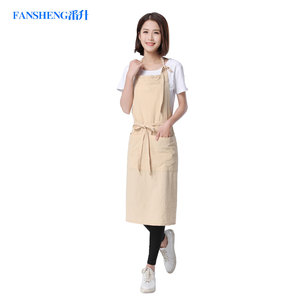 FANSHENG reusable durable cotton apron cheap price