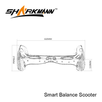 Lithium battery Self Balancing stand up 2 wheel scooter electric scooter dealer