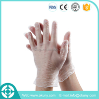 Hot Sale!Vinyl Pvc Medical Gloves Examination/exam Gloves