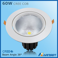 HANSEN gypsum gesso Guangzhou LED recessed light for project