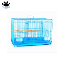 Chinese Powder coated small wire pvc bird breeding cages