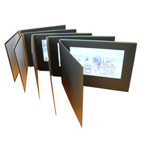 "Touch Screen 7"" video brochure Etindge with customized printing"