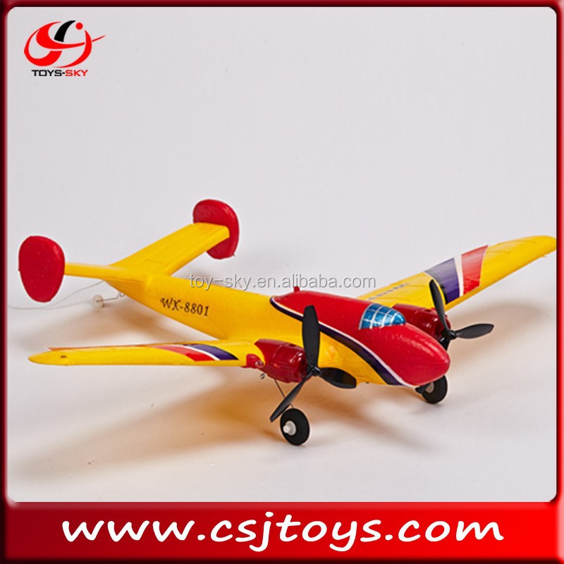 new product 2CH RC airplane LEO-451C Psittaciformes model aircraft