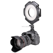 Dongguan Tolifo Portable Led Camera Ring Light for Canon, Nikon, Pentax, Panasonic, Samsung and Olympus DSLR Camera
