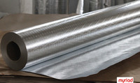 Aluminum Foil Roof Insulation Material, Double Side Reflective Aluminum Foil Insulation