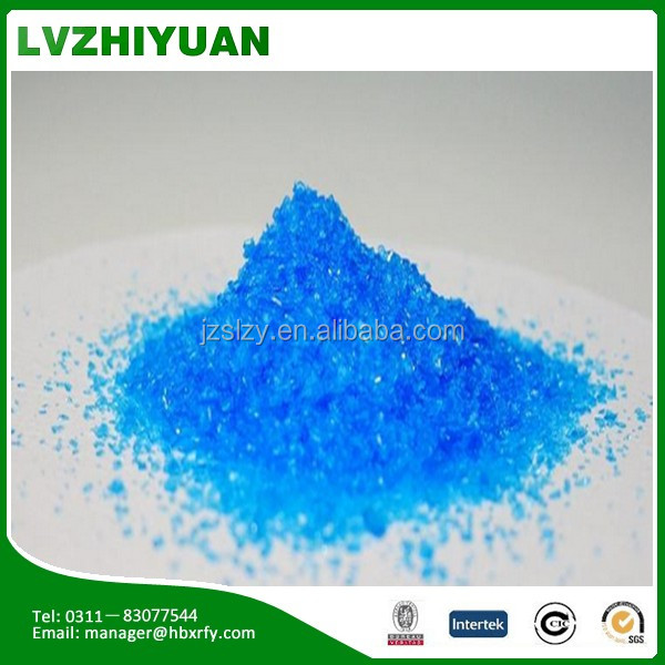 blue crystals agriculture grade copper sulphate CS452T