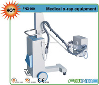 FNX100 2.5 KW 50mA High Frequency Mobile ce approved x ray machine