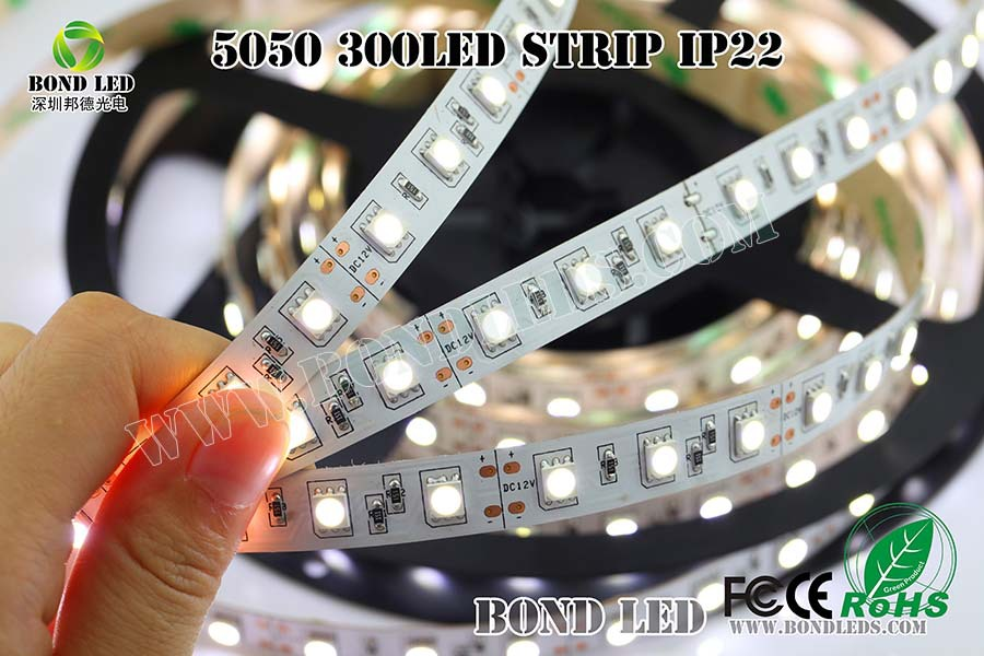 SMD5050 60pcs/m LED Flex strip long life time led strip light,high quality alibaba china,plastic channel strips