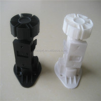 MZ-130 plastic kitchen adjustable cabinet legs with A clips
