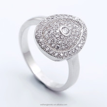 latest design saudi gold jewelry 925 silver sterling silver pave zircon egyptian wedding rings