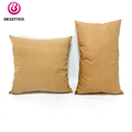Fashionable patterns back support cushion pillow and wooden sofa seat cushion