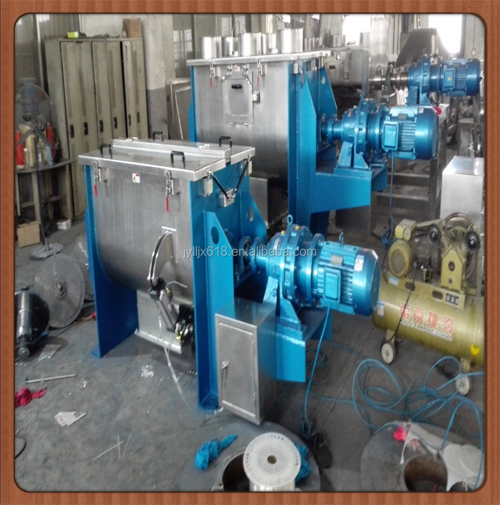 ribbon type mixer for food industries
