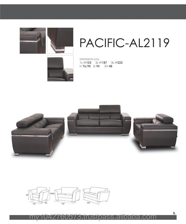LEATHER DESIGN SOFA SET