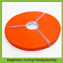 soft-to-the-hand feel PVC coated webbings for dog and horse products