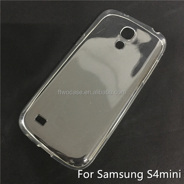 Soft TPU Silicon Transparent Clear Case for Samsung S4 mini/I9190