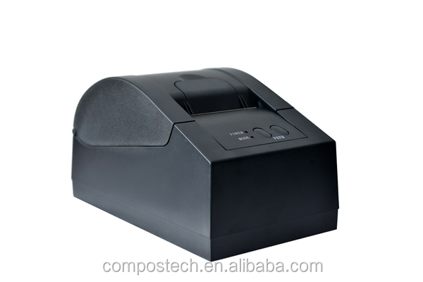 black color USB thermal receipt <strong>printer</strong>/ pos <strong>printer</strong>/58mm receipt <strong>printer</strong> ( Factory)