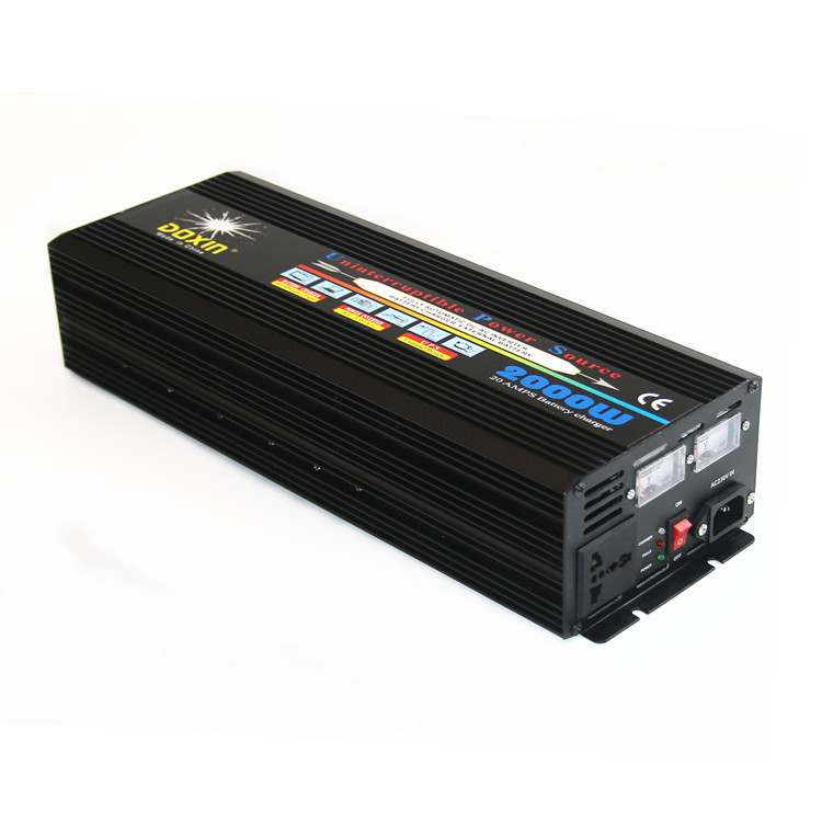 size 270*150*135 solar panel ups modified sine wave inverter 2500w