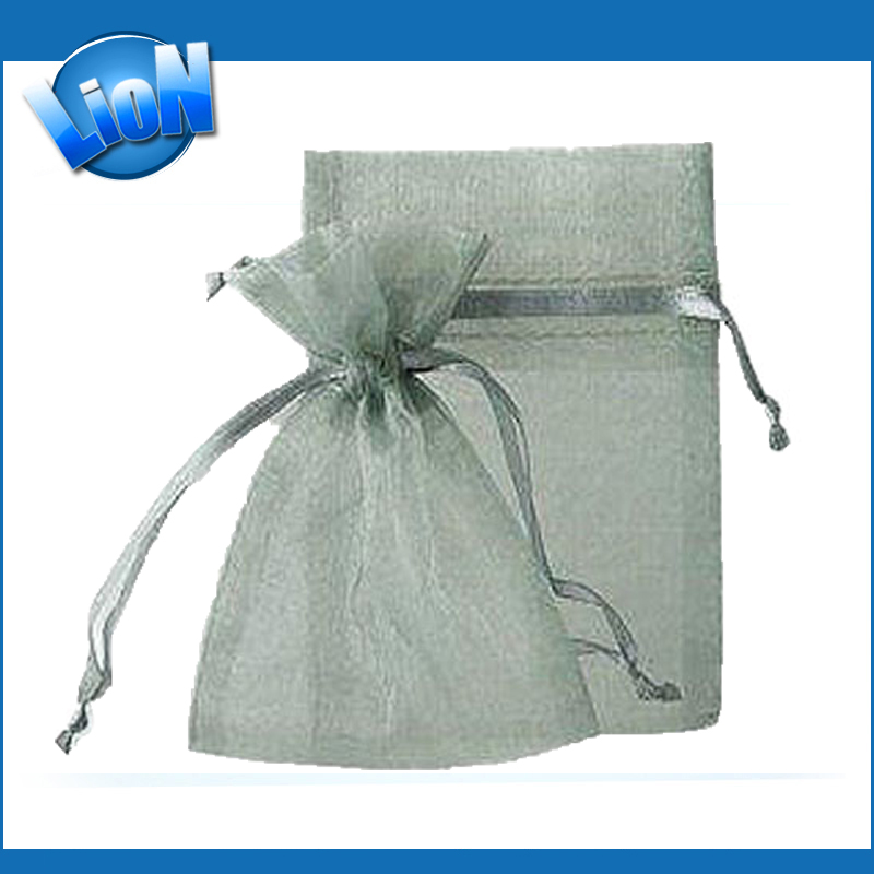 Drawable Organza Jewelry Candy Bags, Christmas Wedding Party Gift Packaging Bags