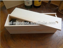 Small wooden boxes wholesale /custom wooden wine gift box