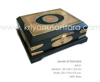 Jewel of Samarra Wooden Quran Box