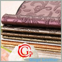 QG5552 raw material of wallpapers furniture garments sofa pvc leather