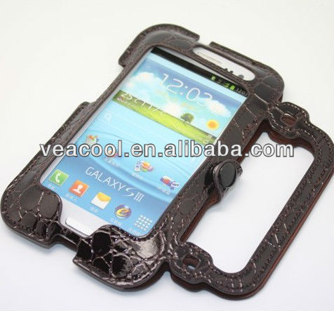 New Bag PU Flip leather case cover with stand for Samsung Galaxy S3 i9300