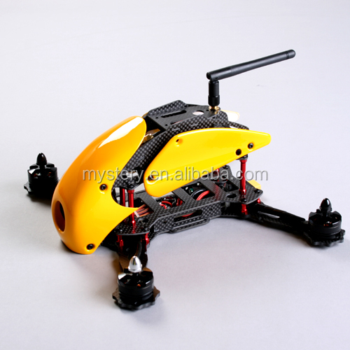 In Stock-Yellow RoboCat 270mm Carbon Fiber Quadcopter Frame