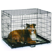 "24"" 30"" 36"" 42"" 48"" China double doors folding metal steel wire dog cage"